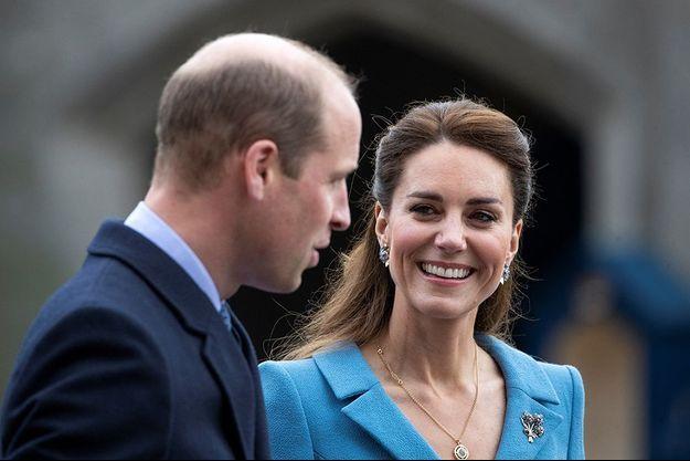 William et Kate à Edimbourg.