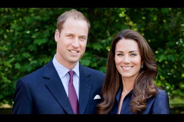 Le portrait officiel de William et Kate pour le voyage au Canada.