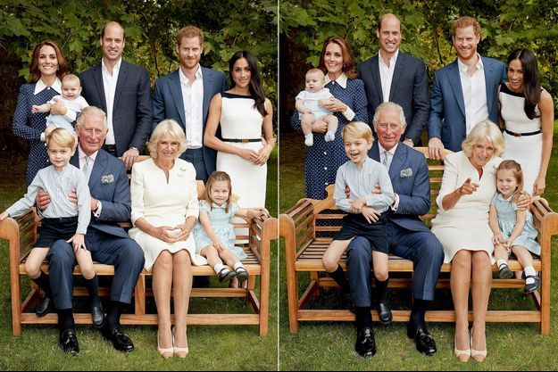 Les Cambridge et les Sussex réunis autour du prince Charles et de son épouse Camilla pour les 70 ans du futur souverain en novembre 2018