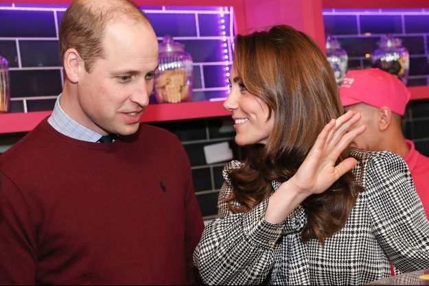 Le prince William et Kate Middleton en visite à Bradford le 15 janvier 2020