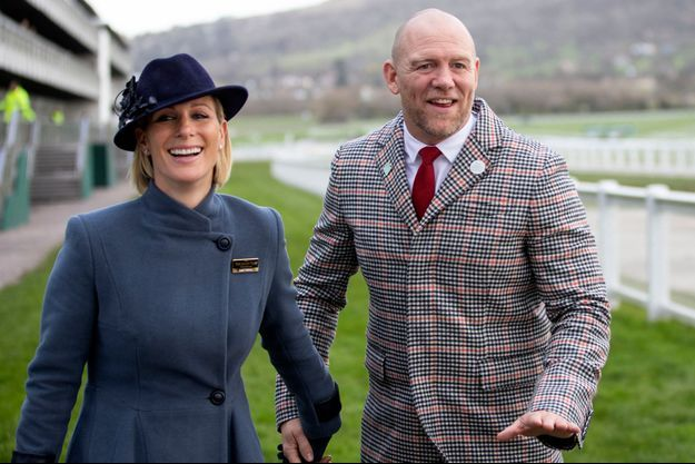 Zara Phillips et son mari Mike Tindall, le 12 mars 2020