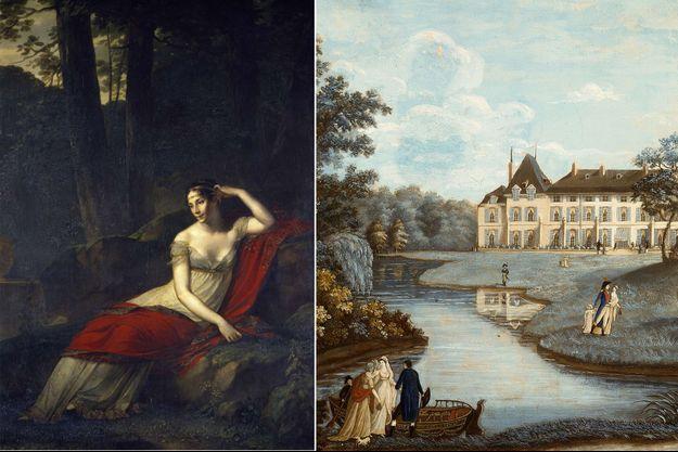Joséphine de Beauharnais, épouse de Napoléon Bonaparte, et son domaine de Malmaison
