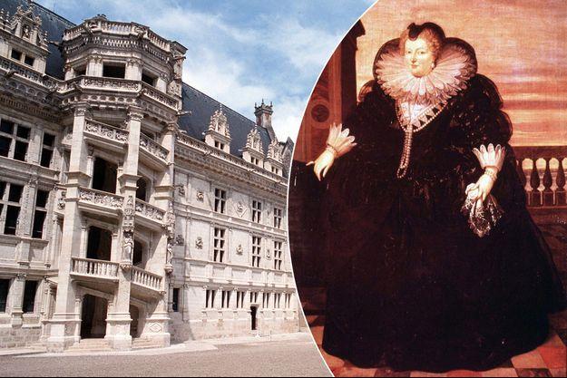 Le château de Blois en 2010 - Marie de Médicis, par F. Pourbus (Palais des Beaux Arts de Valenciennes)