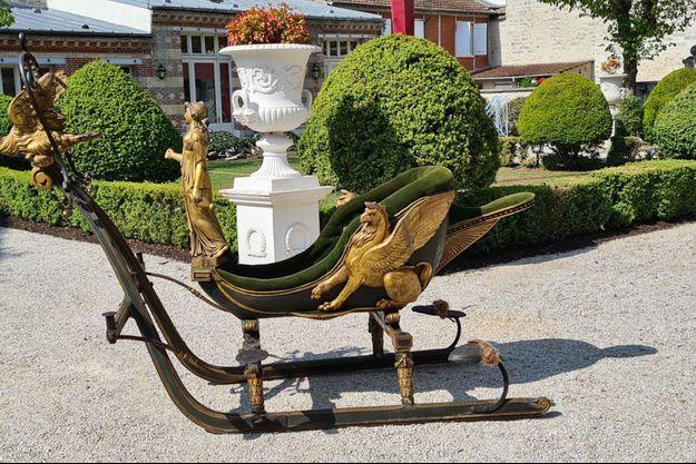 Le traîneau de l'impératrice Joséphine va rejoindre le château de Compiègne