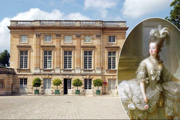 Le Petit Trianon en juin 2006 - La reine Marie-Antoinette en 1778 par Mme Vigée-Lebrun (Art History Museum, Vienne)