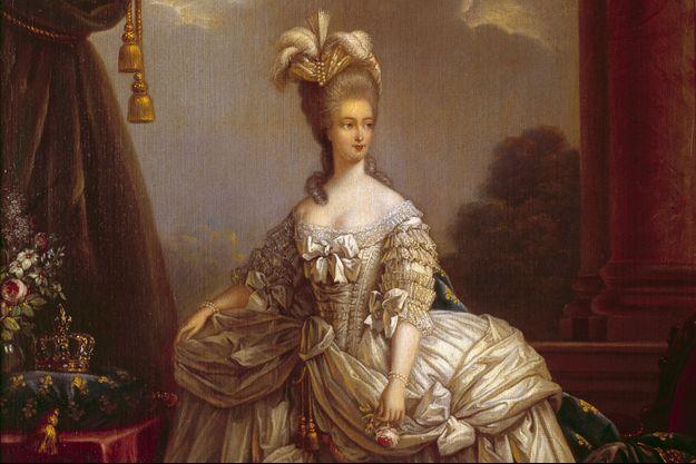 Portrait de la reine Marie-Antoinette par Elisabeth Vigée-Lebrun (château du musée de Compiègne)