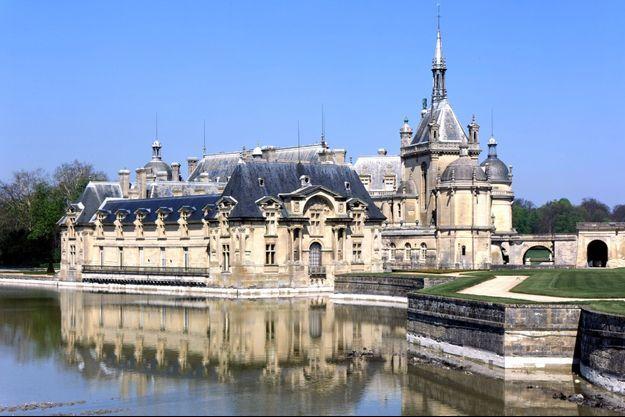 Le château de Chantilly, le 11 septembre 2020