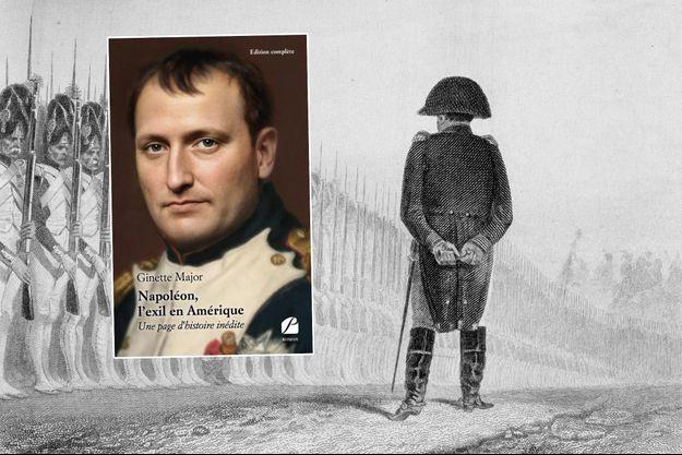 Gravure montrant l'empereur Napoléon Ier passant en revue les grenadiers de la Garde impériale le 1er juin 1811