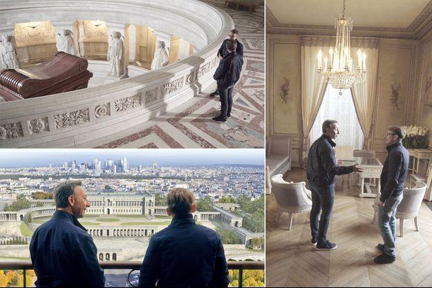Stéphane Bern et Lorànt Deutsch conduisent sur les pas de Napoléon Bonaparte dans «Laissez-vous guider», mardi 13 avril 2021 sur France 2
