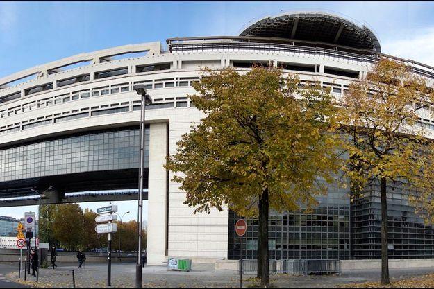 Le ministère des Finances à Bercy