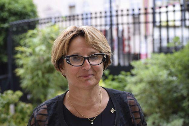Marie-Andrée Blanc, Présidente de l'Union nationale des associations familiales.