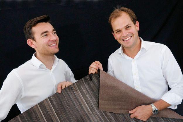 Vladimir Hayot et Nicolas Cheminon, les fondateurs de FibandCo.