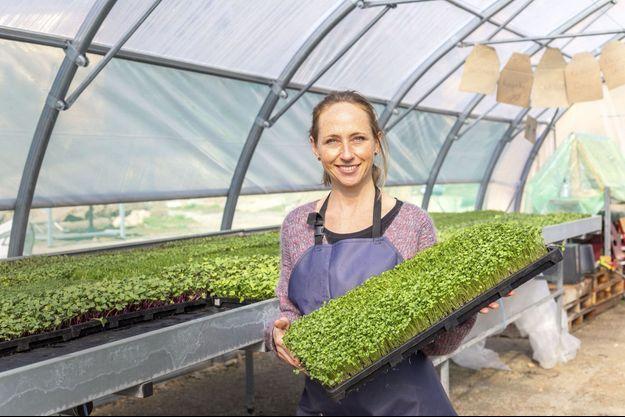 A Marseille, Cécile Trousseau-Petche a créé un second Paysan urbain. Comme à Paris, on y cultive des micropousses.