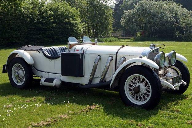 De magnifiques voitures seront exposées comme cette Mercedes SS Grand Prix de 1929