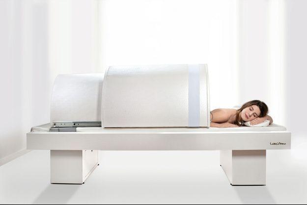 L'infrathérapie: un sauna japonais à infrarouges qui permet une action détoxifiante.