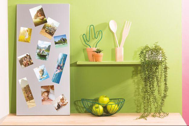 Habillez vos murs avec vos souvenirs photos et MonAlbum Photo