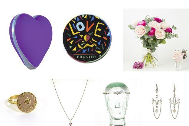 Quelques idées cadeaux pour la St Valentin...
