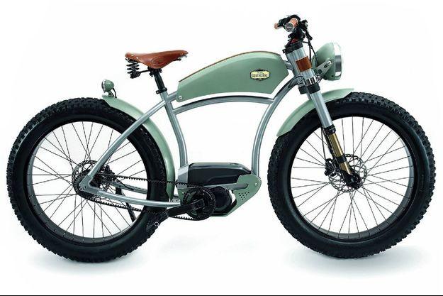 Empreint de raffinement, ce luxueux deux-roues revendique un fait-main hexagonal.