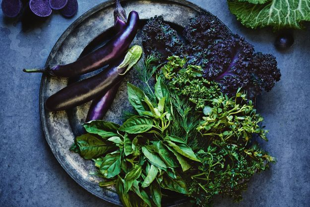 Crudités et légumes bio