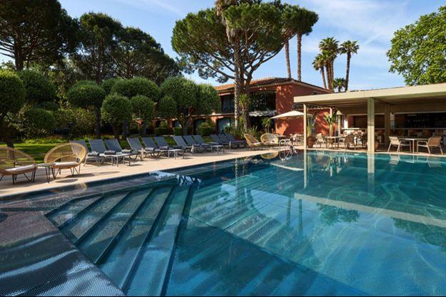 Ce grand bleu de La Villa Duflot à Perpignan est une invitation aux voyages.