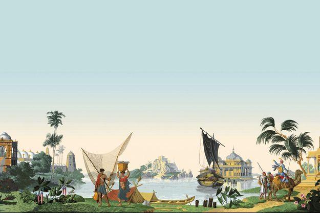 Les planches de Hindoustan datent de 1807 et sont classées Monument historique.