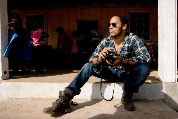 Lenny Kravitz. lui aussi adepte de Leica.