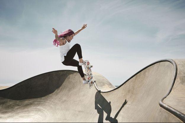 La Brésilienne Leticia Bufoni, 26 ans, skateuse la plus médaillée des X Games, est devenue une légende vivante.