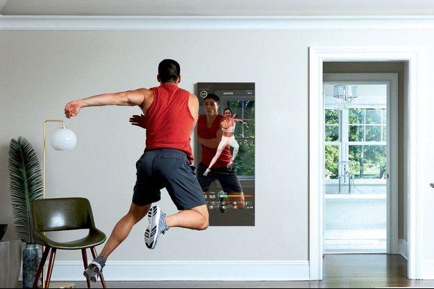 Le miroir connecté entend bien révolutionner le sport à domicile