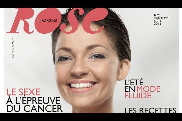 La couverture du second numéro de Rose, sorti le 21 mai dernier