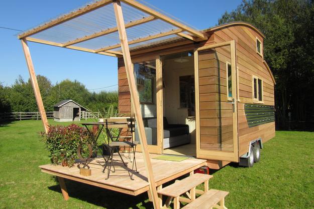 Ultra économiques et écologiques, les mini-maisons transportables