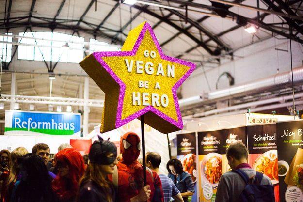 Le salon Veggie World accueille chaque année en Europe plus de 60 000 visiteurs.