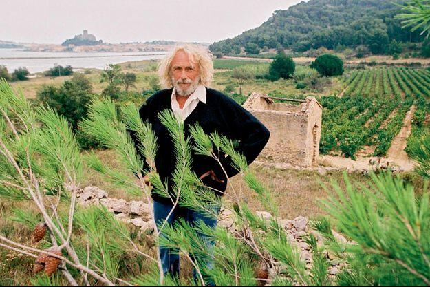Pierre Richard en son domaine de Bel-Evêque, à Gruissan, dans l'Aude
