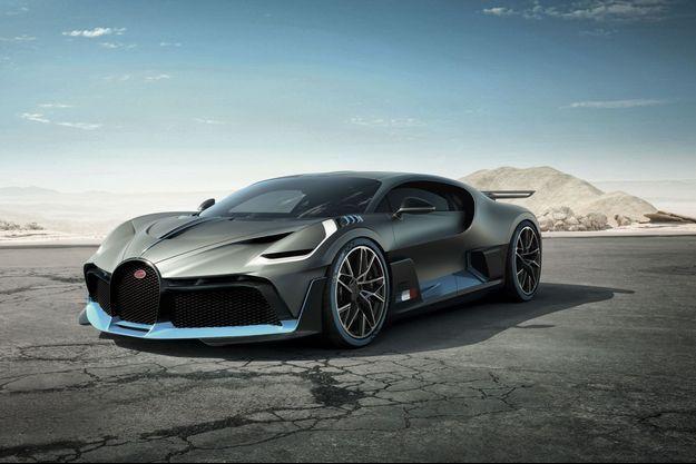 Bugatti Divo : diamant brut