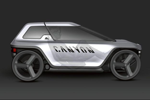 Le Future Mobility Concept (FMC) consiste, tout simplement, en une voiture à pédales… pour adultes.