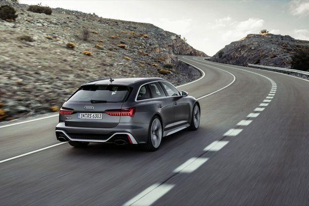 L'Audi RS6, élu automobile de l'année