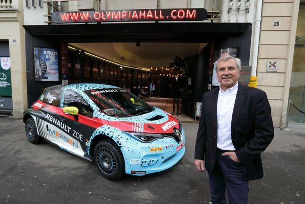 La Renault Zoe présentée la semaine dernière à l'Olympia à Paris par Max Mamers.