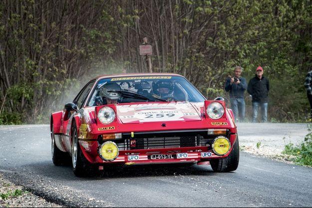 """""""Mythique et magnifique, cette 308 Groupe 4 est la seule Ferrari de rallye"""""""