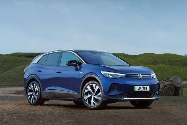 Elue voiture mondiale de l'année, la Volkswagen ID.4