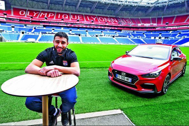 Nabil Fekir dans son « jardin » du Groupama Stadium de Lyon