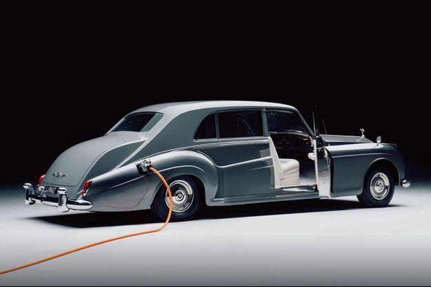La Rolls-Royce Lunaz Phantom