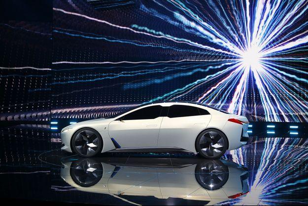 La nouvelle BMW iVision Dynamics, présentée au salon de Francfort, mardi.