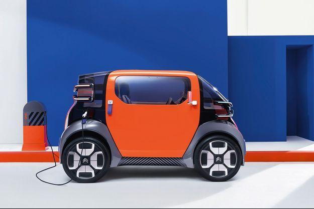 La Citroën Ami One, accessible sans permis, dès 14 ans