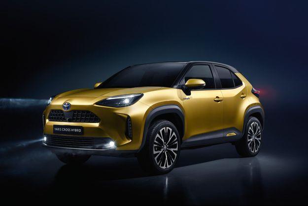 La Toyota Yaris Cross