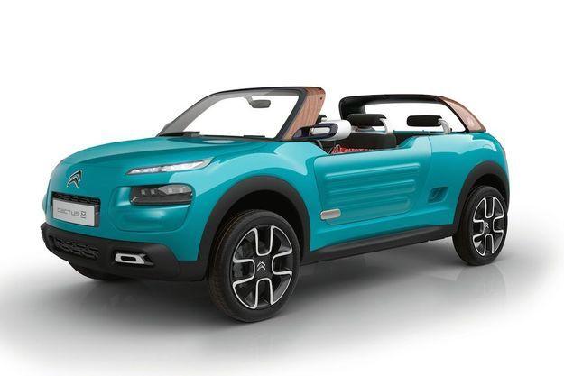 Le Cactus M dispose d'un 3-cylindres turbo essence de 110 ch couplé à une boîte automatique à 6 rapports, une association bientôt disponible sur le C4 Cactus.