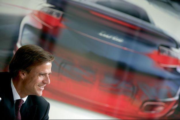 Michael Mauer, directeur du design Porsche