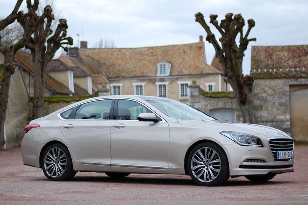Avec la Genesis, Hyundai espère démontrer sa crédibilité dans le haut de gamme.