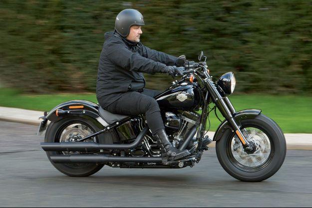 Frédéric Anton en Harley-Davidson