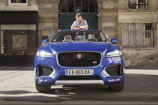 L'humoriste Olivier de Benoist a essayé la Jaguar F-Pace.