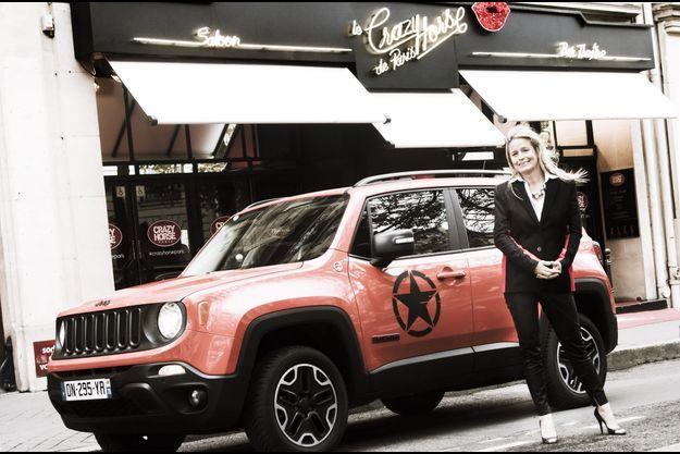 Jeep Renegade et Andrée Deissenberg
