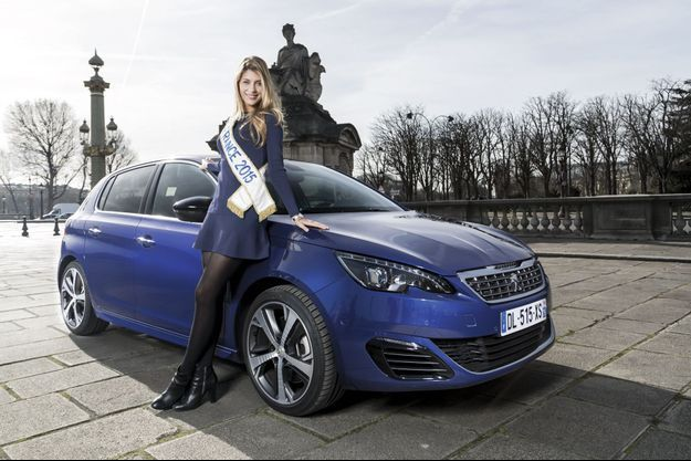 Camille Cerf, miss France 2015.